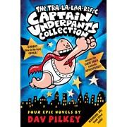 Captain Underpants, Books 1-4, coffret (anglais)
