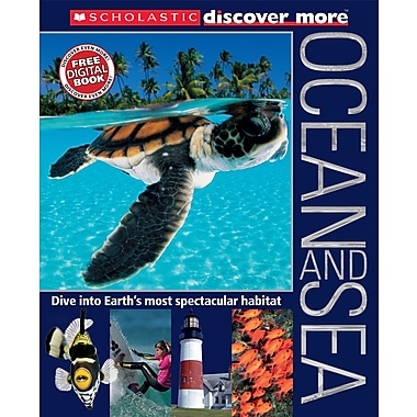 Scholastic – Découvrez plus : Océan et mer, lecteur expert, anglais