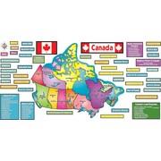 Teacher's Friend Publications – Carte du Canada ! Ensemble pour tableau d'affichage