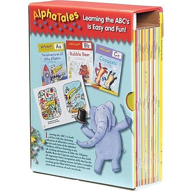 Scholastic AlphaTales Box Set A Set of 26 Irresistible Animal Storybooks