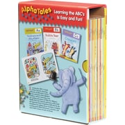 Scholastic AlphaTales – Coffret série A, collection de 26 livres d'histoires d'animaux irrésistibles