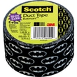 Scotch® Brand Duct Tape, Batman/Glow in the Dark, 1.88in. x 10 Yards