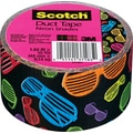 Scotch® Brand Duct Tape, Neon Shades, 1.88in. x 10 Yards