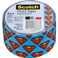 Scotch® Brand Duct Tape, Superman, 1.88in. x 10 Yards