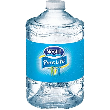 Nestle® Pure Life® Bottled Purified Water, 3 Liter Bottles, 6 Bottles/Case