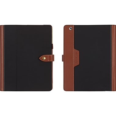 Griffin Back Bay iPad Air Folio, Black/Brown