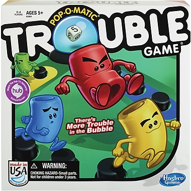 Hasbro Pop-O-Matic® Trouble® Game