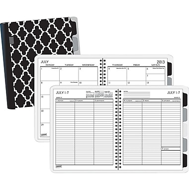 2013/2014 Staples® Academic Weekly/Monthly Planner with Notes, 6 7/8in. x 8 3/4in.