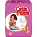 Cuties Training Pants, Girl 2T-3T, 104/Case