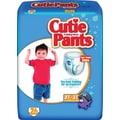 Cuties Training Pants, Boy 2T-3T, 104/Case