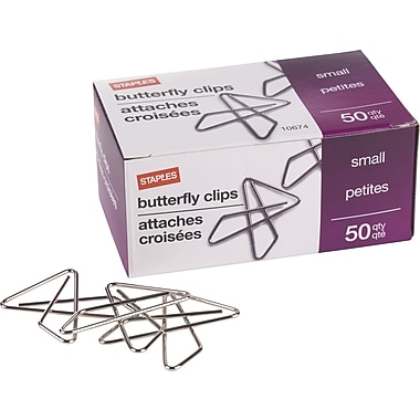 Staples® Small Ideal Butterfly Clamps
