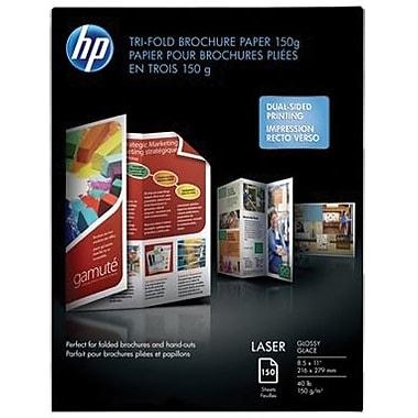 HP Tri-Fold Laser Brochure Paper 08-1/2