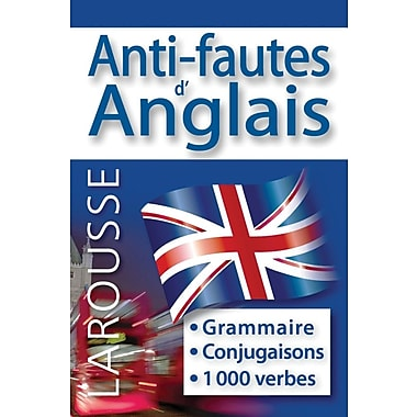 French Reference Book - Larousse Grammaire Anti-Fautes d' Anglais