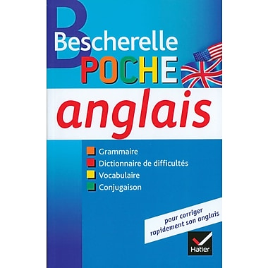 French Reference Book - Bescherelle Grammaire Poche Anglais
