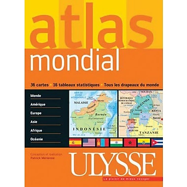 French Reference Book - Ulysse Geographie Atlas Mondial