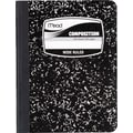 Mead® Square Deal® Black Marble Composition Book, Wide Ruled, 1-Subject, 9-3/4in. x 7-1/2in.