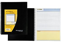 Cambridge Limited® QuickNotes® Business Notebook, 8 1/2' x 11', Black (06066)