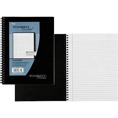 Cambridge® Legal Ruled Business Notebook 1 Subject, 80 Sheets, 6