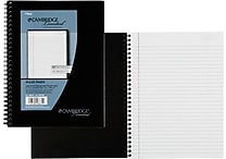 Cambridge® Legal Ruled Business Notebook 1 Subject, 80 Sheets, 6' x 9 1/2' (06672)