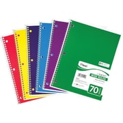 Mead® Spiral® Notebook, 1-Subject, 8 x 10-1/2, Wide Ruled