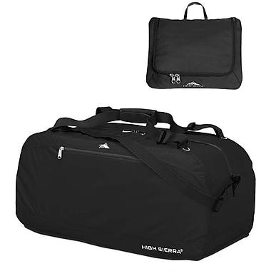 High Sierra – Sac de sport Pack-N-Go de 36 po, noir