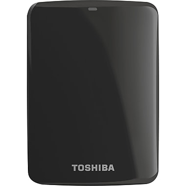 Toshiba Canvio® Connect 1.5TB Portable Hard Drive (Black)