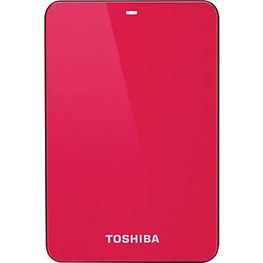 Toshiba Canvio® Connect 1.5TB Portable Hard Drive (Red)
