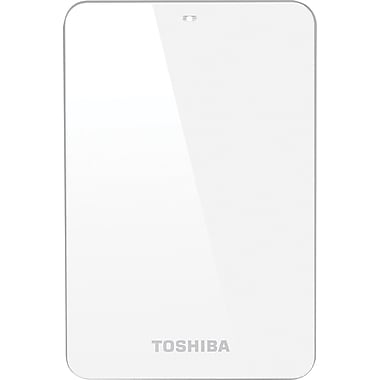 Toshiba Canvio® Connect 1.5TB Portable Hard Drive (White)