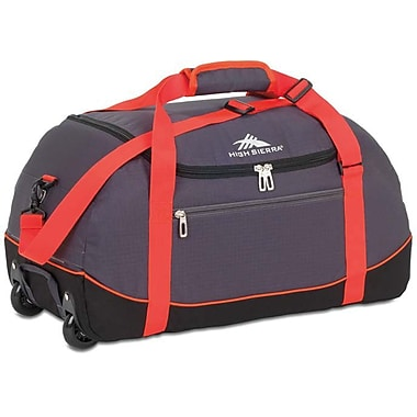 High Sierra – Sac de sport Wheel-N-Go de 36 po, mercure