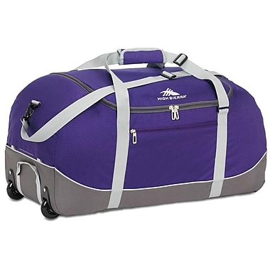High Sierra – Sac de sport Wheel-N-Go de 30 po, violet