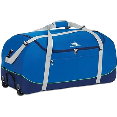 High Sierra – Sac de sport Wheel-N-Go de 36 po, bleu
