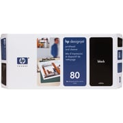 HP DesignJet 80 Black Printhead and Cleaner (C4820A)