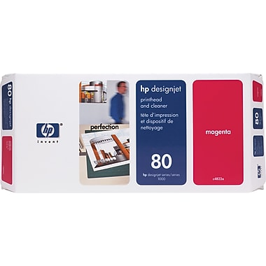 HP DesignJet 80 Magenta Printhead and Cleaner (C4822A)