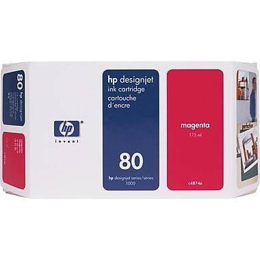 HP – Cartouche d'encre magenta DesignJet 80 (C4874A)