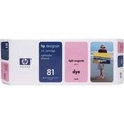 HP DesignJet 81 Light Magenta Ink Cartridge (C4935A)