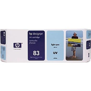 HP DesignJet 83 Light Cyan UV Ink Cartridge (C4944A)