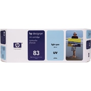 HP DesignJet 83 Light Cyan UV Ink Cartridge (C4944A)
