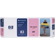 HP DesignJet 83 Light Magenta UV Ink Cartridge (C4945A)