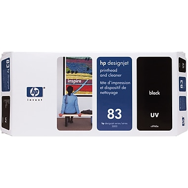 HP DesignJet 83 Black UV Printhead and Cleaner (C4960A)