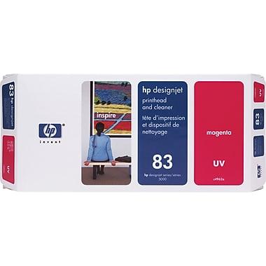 HP – Tête d'impression UV magenta et nettoyant DesignJet 83 (C4962A)