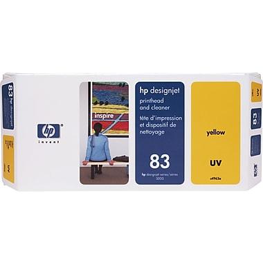 HP – Tête d'impression UV jaune et nettoyant DesignJet 83 (C4963A)