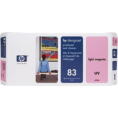 HP – Tête d'impression UV magenta clair et nettoyant DesignJet 83 (C4965A)