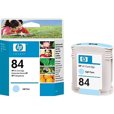 HP – Cartouche d'encre cyan clair 84 (C5017A)