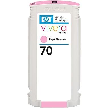 HP – Cartouche d'encre magenta clair 70 (C9455A)