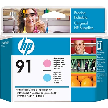 HP 91 Light Magenta and Light Cyan Printhead (C9462A)
