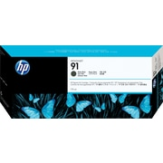 HP 91 Matte Black Ink Cartridge, 3/Pack (C9480A)