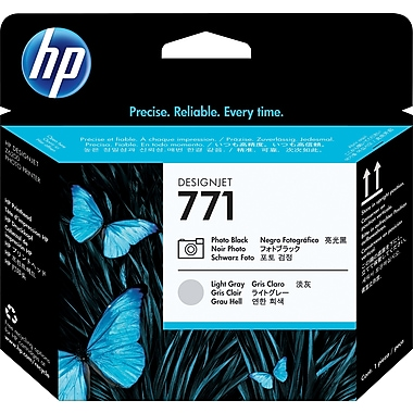HP 771 Photo Black and Light Grey Printhead (CE020A)