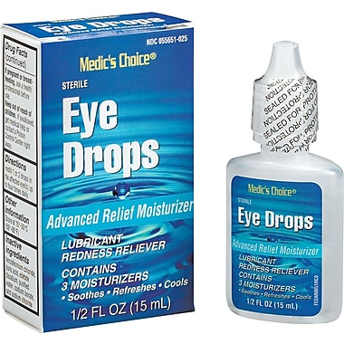 First Aid Only™ Eye Drops, Industrial Strength for Welder's Arc