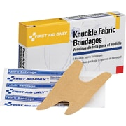 First Aid Only™ Knuckle Bandage, Fabric, 8/box