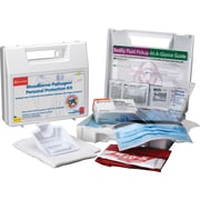 First Aid Only™ Bloodborne Pathogen/Personal Protection Kit w/ 6 pc CPR Pack, 31 pieces